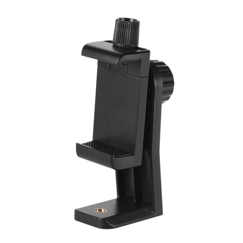 Andoer CB1 Plastic Smartphone Clip Holder Stand Support Clamp Frame Bracket Mount for iPhone 7/7s/6/6s for Samsung Huawei Cellphone Selfie Portrait Outdoor Video