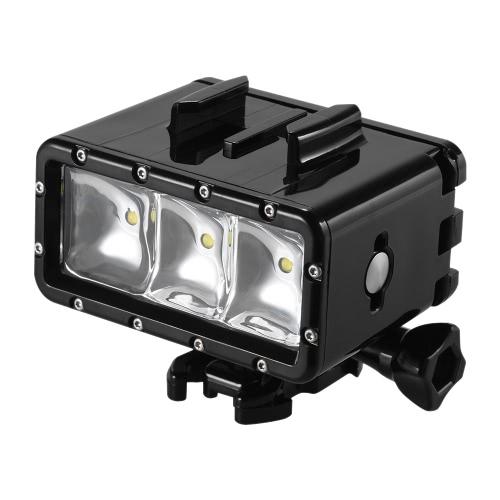 Andoer Wasserdichte LED Tauchen Video Fill-in Light Lamp Spotlight