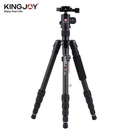 KINGJOY K029 135cm / 4.4ft軽量ポータブルカーボンファイバーカメラ三脚