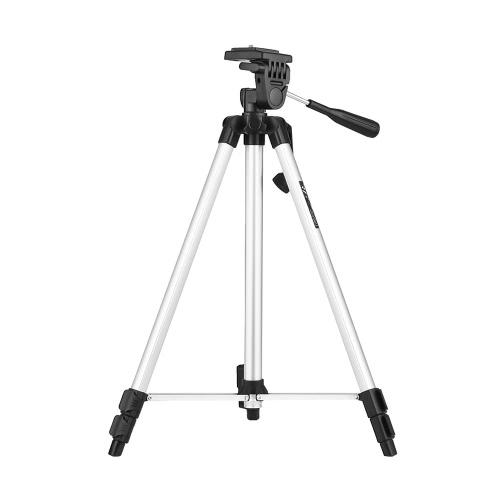 """WEIFENG WT-330A Trépied portable portable léger Alliage d'aluminium Max. Chargez 3 kg avec une plaque de dégagement rapide à vis de 1/4 """"pour Nikon Canon Sony DSLR Cameras Caméscopes"""