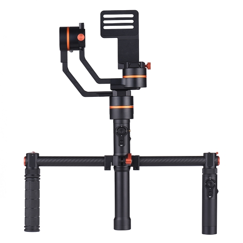 ViewFlex TARZAN M(A) 3-Axis Handheld Gimbal Video Stabilizer+Electronic Dual Handle Grip