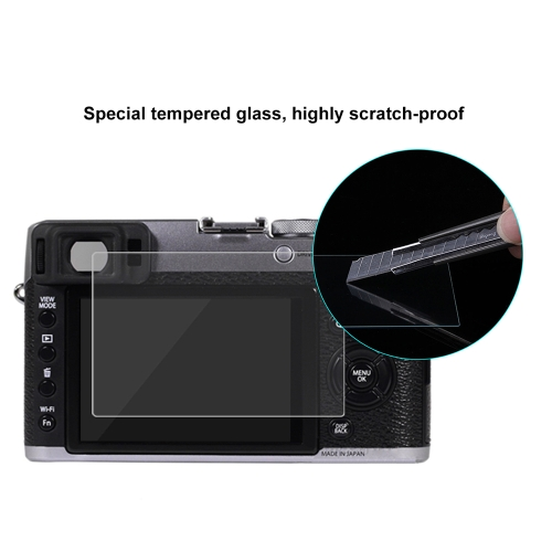 puluz camera screen protective films polycarbonate protect film for finepix x100t