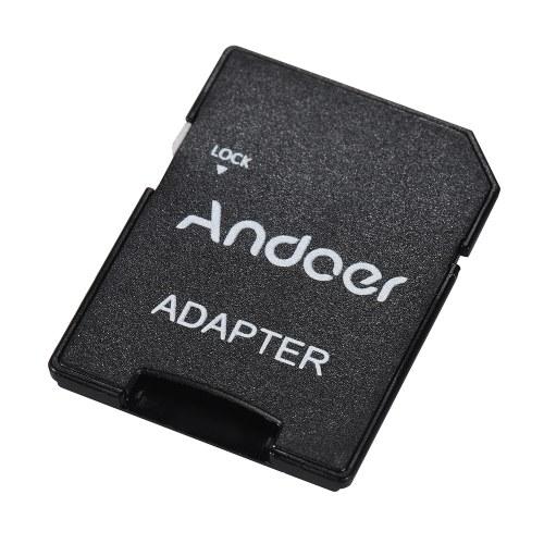 Andoer 64 Go Class 10 Carte Mémoire TF Carte + TF Carte Adaptateur pour Caméra Voiture Caméra Cellulaire Téléphone Table PC Audio Lecteur GPS