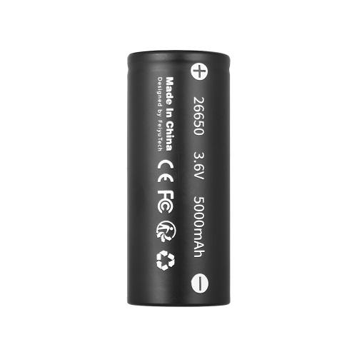 FeiyuTech 3.6V 5000mAh 26650 Batteria ricaricabile per G6 / G6 Plus