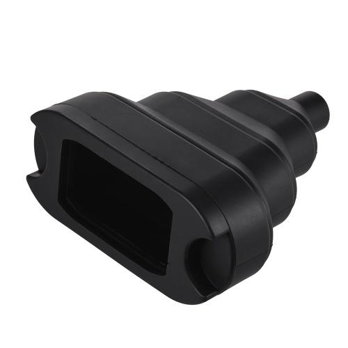 Snoot cónico escalable de goma con 5pcs Kit de filtro de color Adsorción de imán para Neewer Canon Nikon Yongnuo Godox Meike Vivitar Fotografía Speedlite Speedlight de cámara