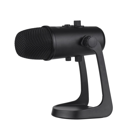 BOYA Professional Desktop USB Microphone Metal Computer Condenser Microphone with Stand