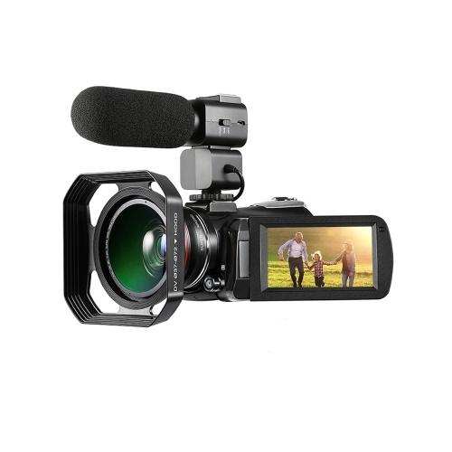 ORDRO AC3 4K WiFi Цифровая видеокамера Видеокамера фото