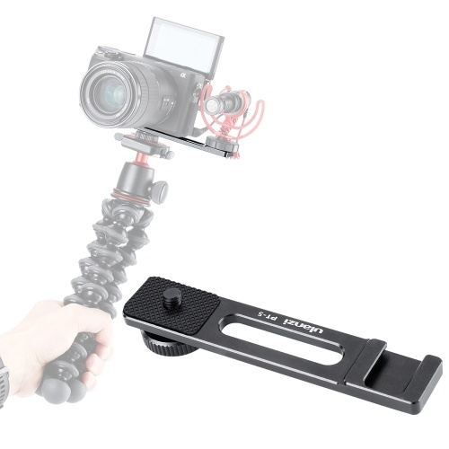 Ulanzi PT-5 Vlogging Microphone Mount Stand Extension Bar Plate