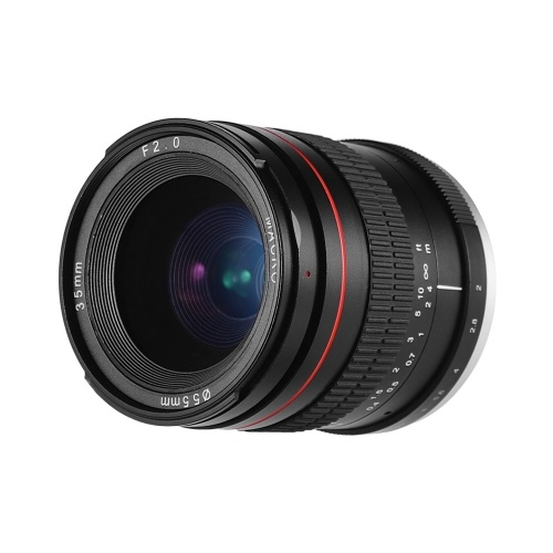 35 мм F2.0 широкоугольный объектив с ручной фокусировкой