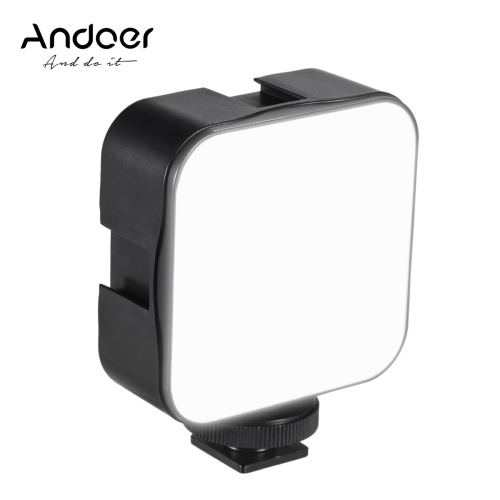 Andoer Mini LED Video Light Photography Fill-in Lamp