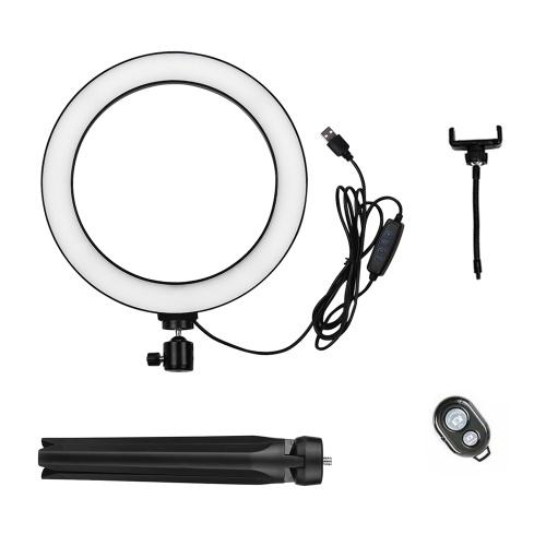 docooler 26cm/10 Inch LED Ring Light