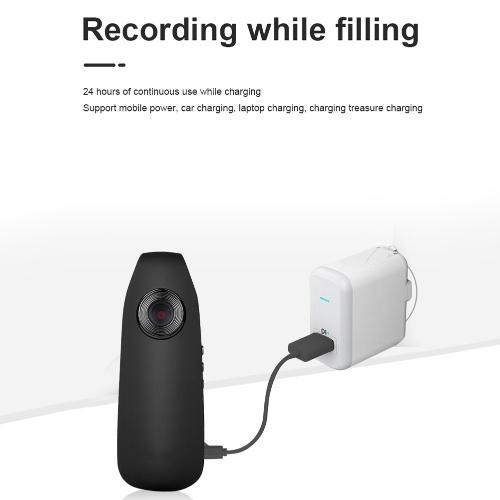 Wifi Wireless Wide Angle 1080P Camcorder Portable Mini Body Worn Camera