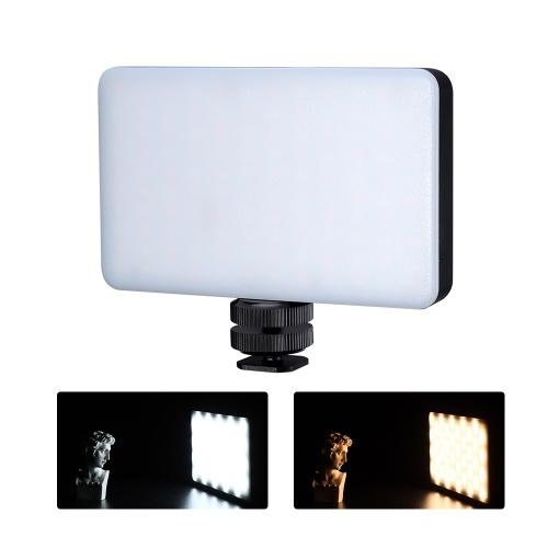 VIJIM VL1Temperatura Mini LED de luz de vídeo