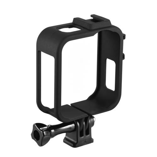Boîtier de caméra d'action Boîtier de protection en plastique Vlog Cage