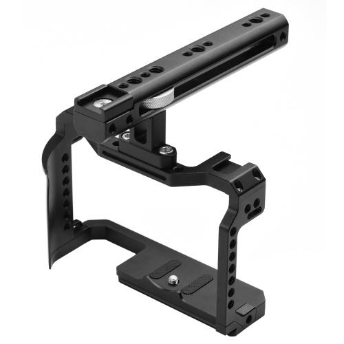 Stabilisateur de plate-forme vidéo de cage de caméra en alliage d'aluminium