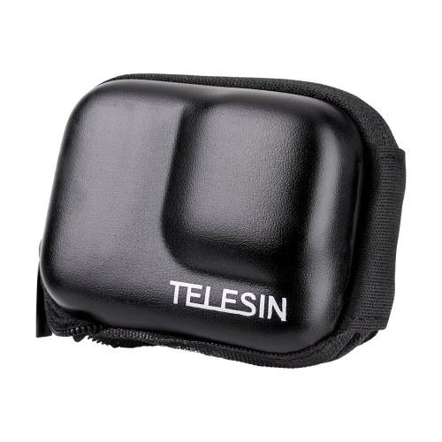 Bolsa protetora de armazenamento TELESIN Bolsa de transporte com zíper semi-aberta IP54 à prova d'água