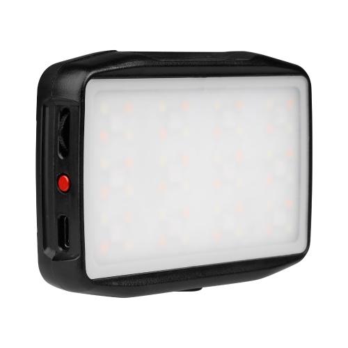 FalconEyes F7 Mini RGB LED-Videoleuchte Wiederaufladbare Füllleuchte an der Kamera