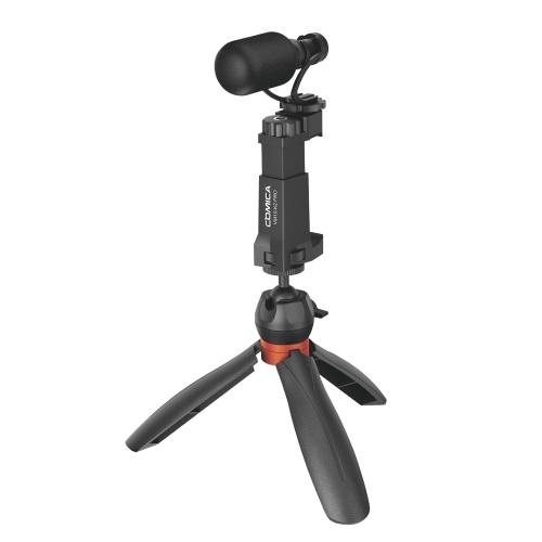COMICA CVM-VM10-K2 Pro Multifunktionales Smartphone Video Vlog Kit
