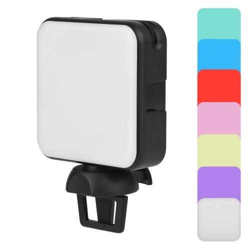 Andoer W64 Mini lampada fotografica portatile sulla luce LED della fotocamera