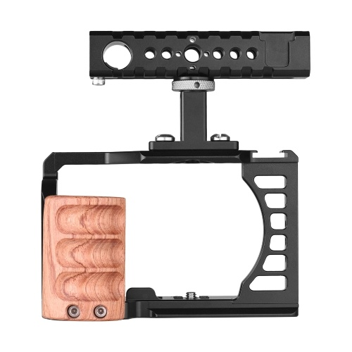 Camera Video Cage + Top Handle Kit Aluminum Alloy