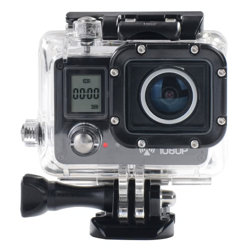 AMKOV AMK5000S 20MP 1080P Wifi Waterproof 30M Shockproof 170°Wide Angle Outdoor Action Sports Camera Camcorder Digital Cam Video HD DV Car DVR