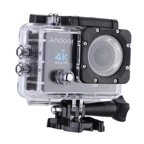 Andoer Q3H 170°Wide Angle 4K Ultra HD 25FPS 1080P 60FPS Wifi Action Camera