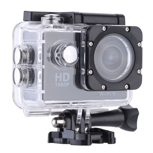 W9B 1080P 30FPS Max 12MP Wifi Waterproof 30M Shockproof 170°Wide Angle 2.0