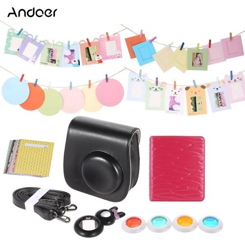 Andoer Instant Film Camera Accessories Bundles for Fujifilm Instax Mini8 8s