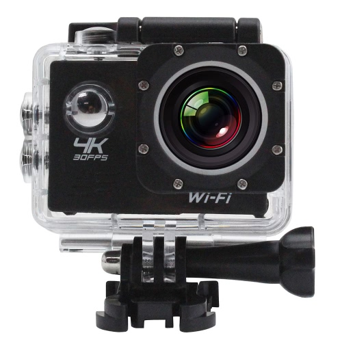2 LCD Screen Wifi 4K Sports Action Camera, TOMTOP  - buy with discount