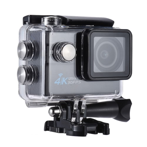 Wifi Ultra HD 16MP 4K 30FPS 1080P 60FPS 4X Zoom 170 Degree Wide-Lens Action Camera