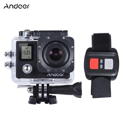 Andoer 4K 30fps / 60fps 1080P Full HD 16 MP Kamera Akcja Wodoodporny 30m WiFi 2.0
