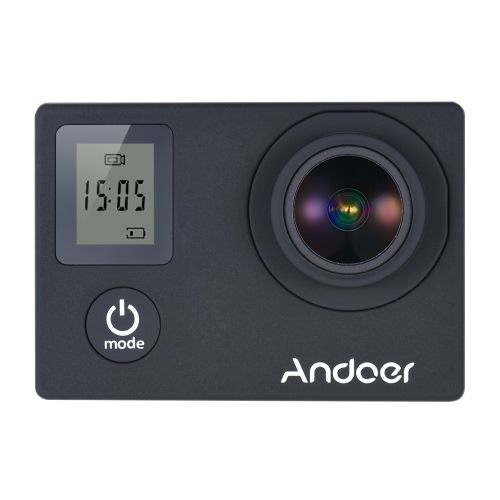 Andoer 4K 30fps/1080P 60fps Full HD 16MP Action Camera Waterproof 30m WiFi 2.0