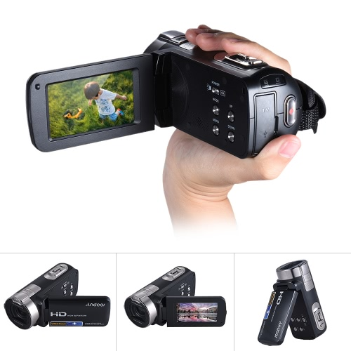 Cámara de vídeo digital Andoer HDV-312P