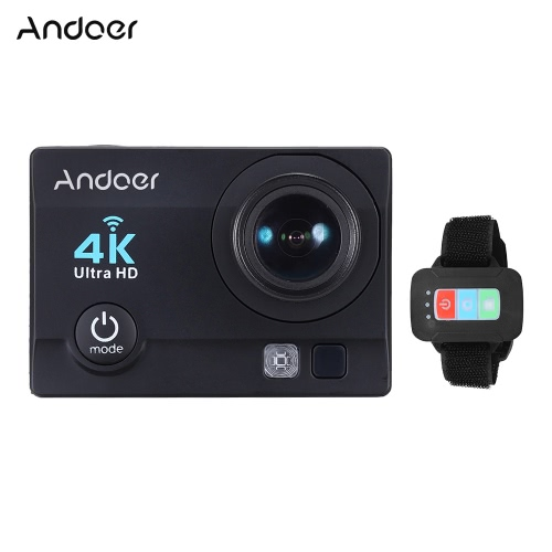 Andoer V3 Q3H-R 4K 30fps caméra 16MP WiFi Action Sports