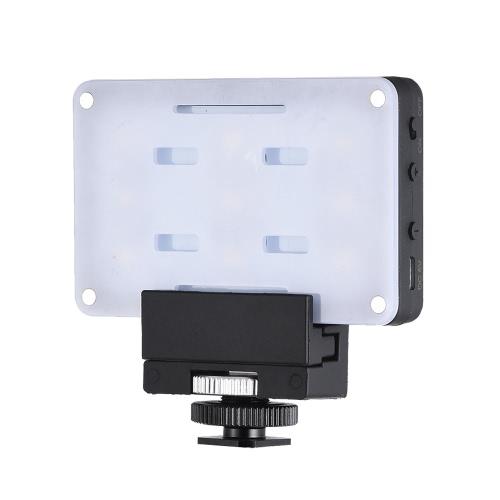 Andoer SHL-045 Mini luz LED de video en la cámara de luz