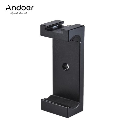 Adaptador de montaje para trípode para teléfono Andoer