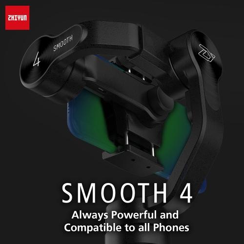 zhiyun smooth 4 3-axis handheld smartphone gimbal stabilizer title=zhiyun smooth 4 3-axis handheld smartphone gimbal stabilizer