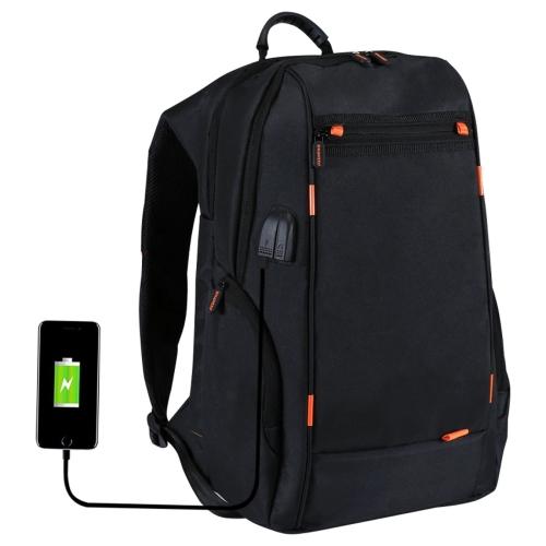 Mochila de carga al aire libre con puerto USB