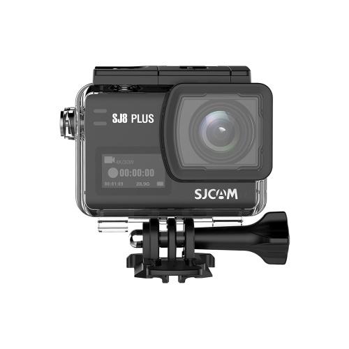 SJCAM SJ8 PLUS Action Kamera 4 Karat / 30 FPS 12MP Sport Cam mit EIS 170 ° Weitwinkel Objektiv 2,33 Zoll Touchscreen 1200 mAh Batterie