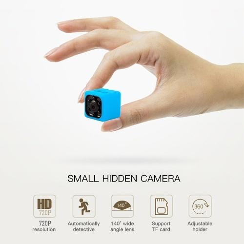 SQ11 720P Mini Infrared Night Vision Monitor Camera