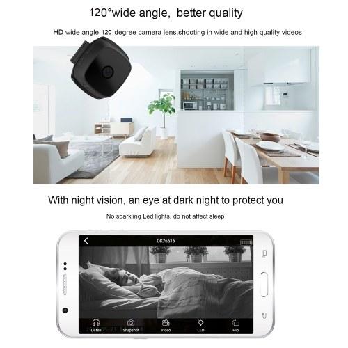 Mini Smart Monitoring HD 1080P WiFi Camera Camcorder