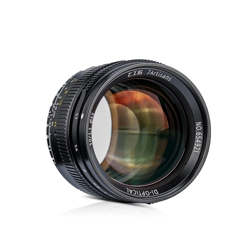 7artisans 50mm f/1.1 Manual Focus Prime Lens