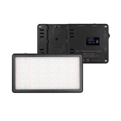 ZIFON RGB Pocket LED Videolichtfeld Kamera Fülllicht