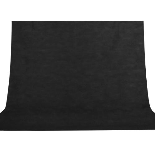 Tissu non tissé 3 * 2M de Backgrop de photographie de fond noir de photo