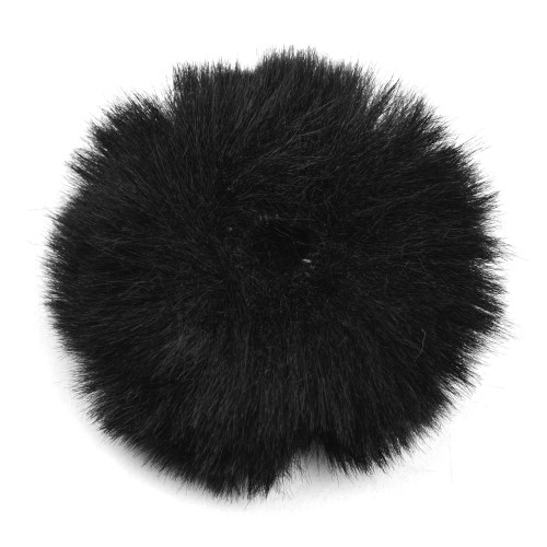 Clip-on Lavalier Microphone Pare-brise Furry Windshield Mic Muff