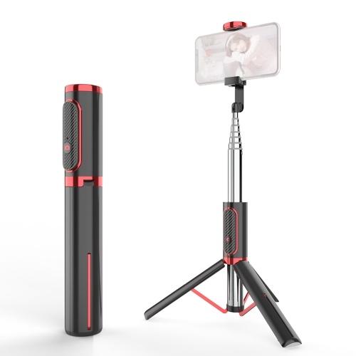 Ulanzi SK-01 Integrated Design Selfie Rod Wireless BT Remote Control Stable Tripod Bracket Portable Retractable Selfie Pole