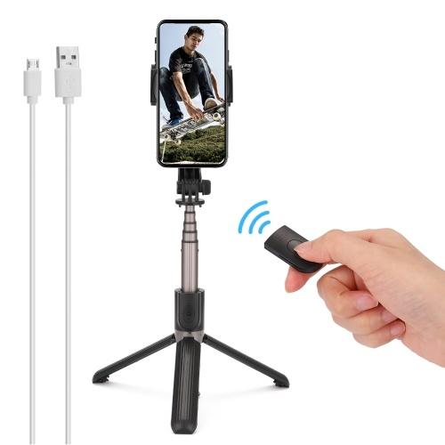 Trépied de téléphone anti-secousse de stabilisateur de téléphone portable à un axe