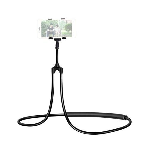 Support de cou multifonctionnel pour smartphone Support de tuyau flexible Support de téléphone de cou paresseux