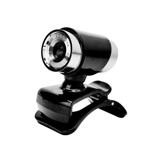 Videocamera per PC con webcam USB 480P con microfono