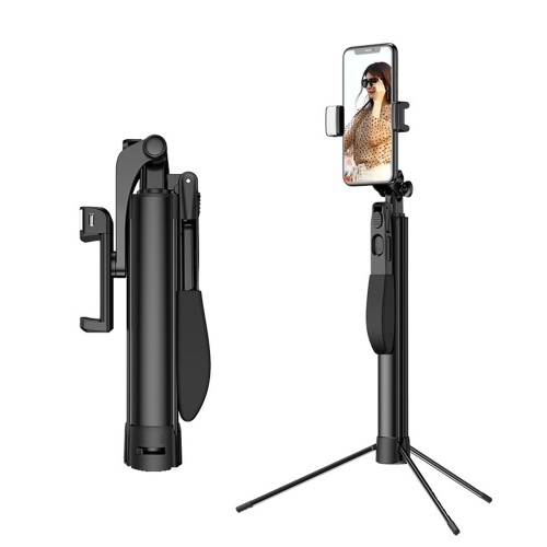 7-Section Handheld Gimbal Stabilizer with Selfie Stick Tabletop Tripod Functions